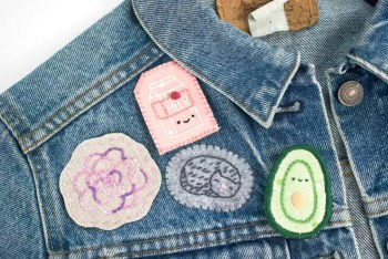 Cute embroidery pins