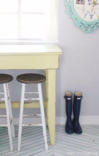 Diy kitchen bar stool reveal