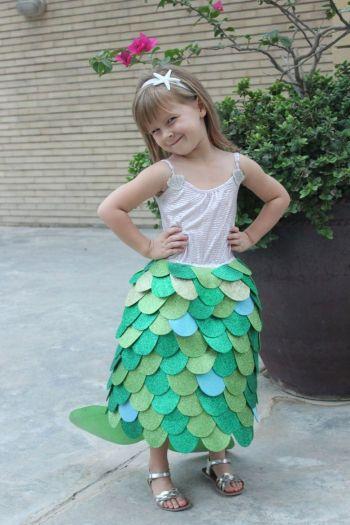 Diy pretty the little mermaid costume