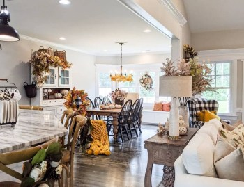 Gorgeous home decor with mustard touches to feel warm during this fall 4