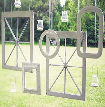 Hanging frame art DIY Appealing Frame Ideas For Gardeners That Worth To Try