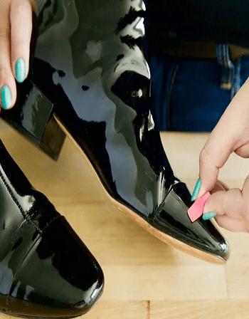 Keep you shoes shiny v
