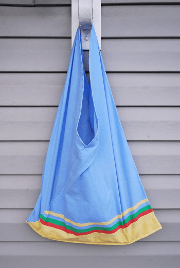 Large pillow case tote bag DIY Fancy Reusable Grocery Bags Ideas To Show Your High Style