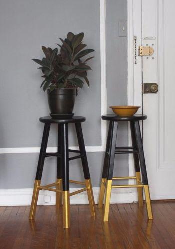Sumptuous diy bar stool