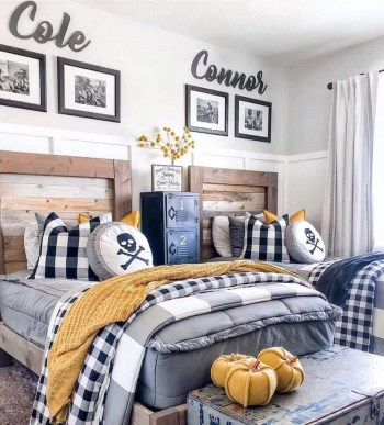 Cozy kids bedroom