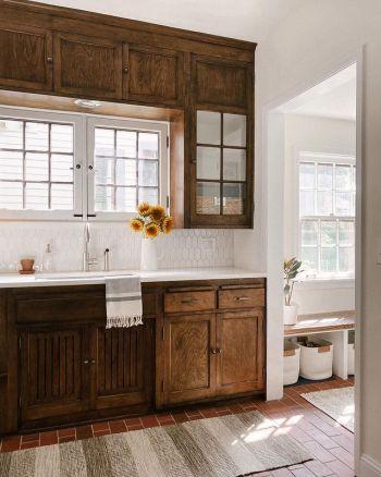 Kitchen with darker tone