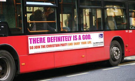 The Christian Party's response to the Atheist Bus Campaign