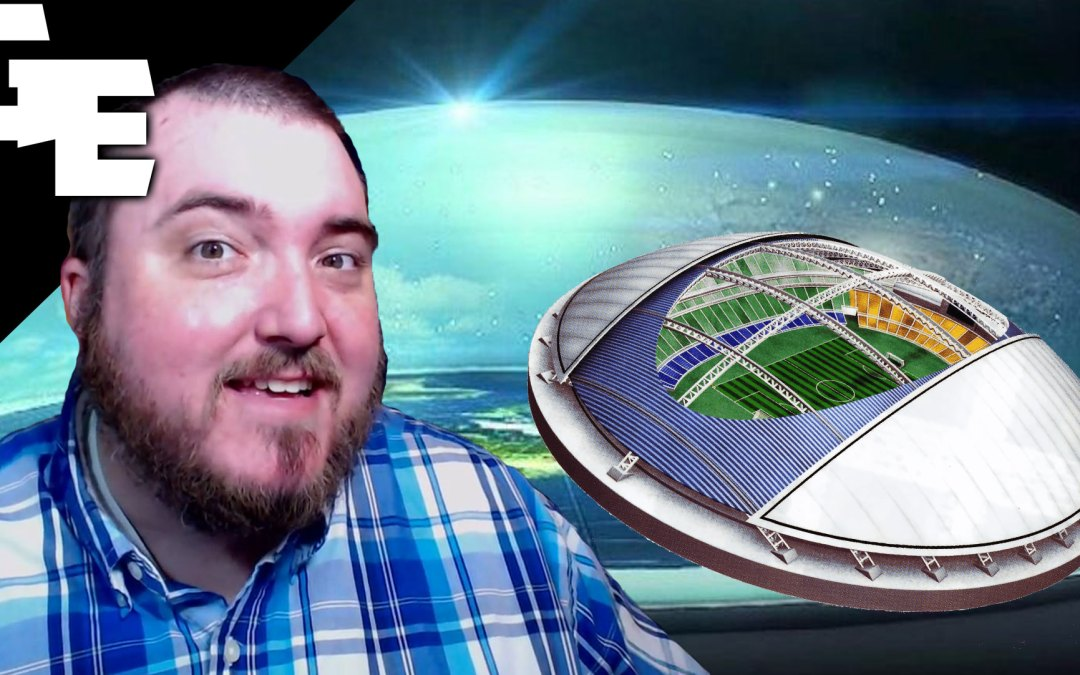Football Stadium Domes Prove Flat Earth Firmament
