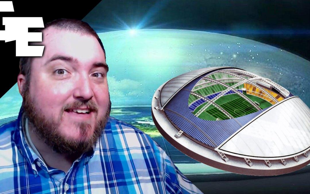 Football Stadium Domes Prove Flat Earth Firmament