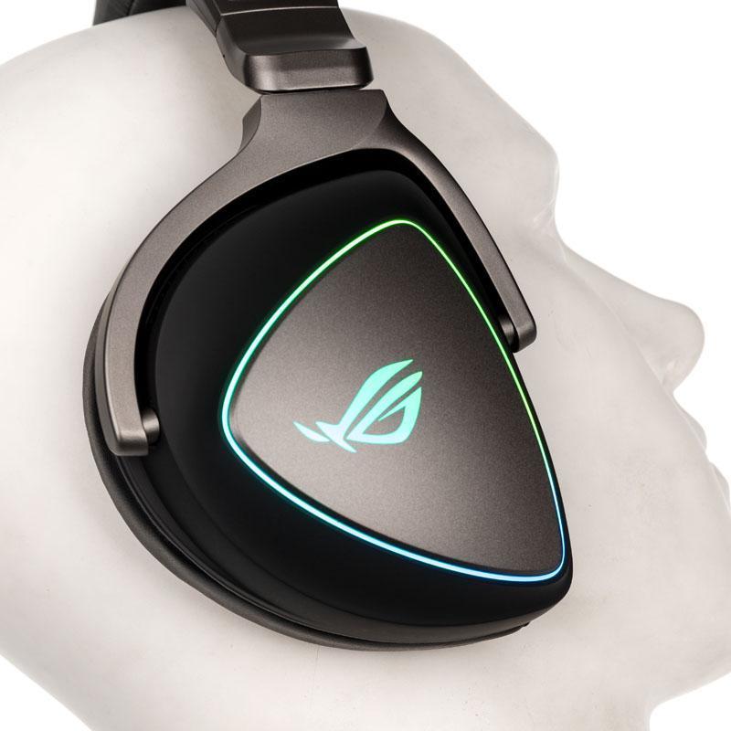 asus rog delta gaming stereo gaming headset