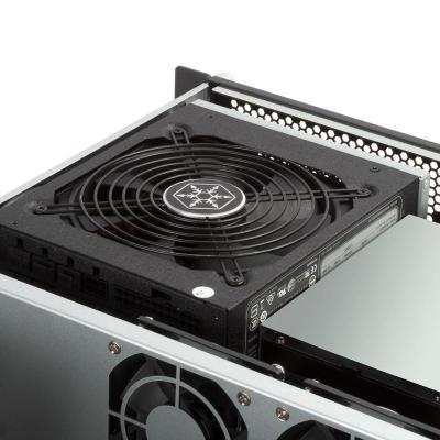 silverstone rm23 502 rackmount server case atx usb 30 2u nero