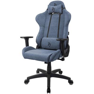 arozzi torretta gaming chair tessuto da tappezzeria blu