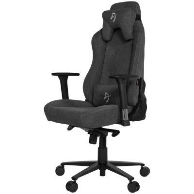 arozzi vernazza gaming chair tessuto da tappezzeria grigio scuro