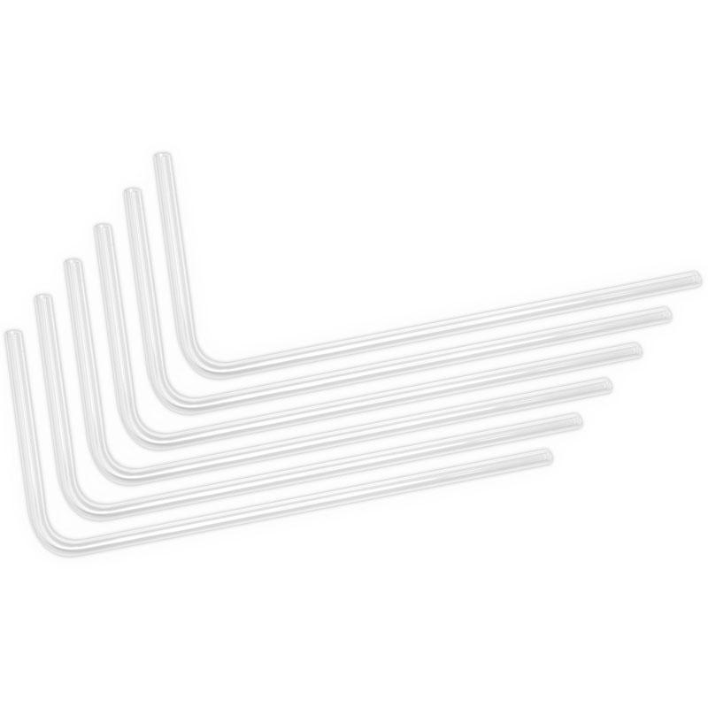ek water blocks ek loop hard tube 16 12mm acryl curvo a 90 gradi 80cm 6 pezzi
