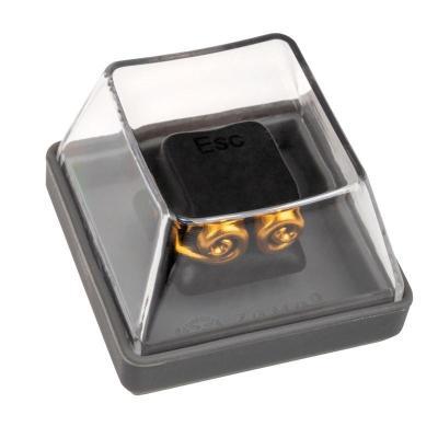 zomoplus keycap in alluminio wukong nero oro