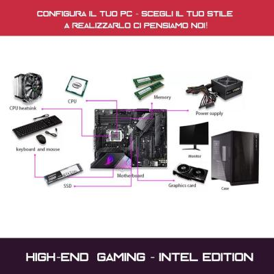 high end gaming pc configuratore intel
