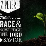 2 Peter 3:18 But grow in grace, and [in] the knowledge of our Lord and Saviour Jesus Christ. To him [be] glory both now and for ever. Amen
