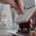 Chocolate Christmas Cake by My Cupcake Addiction