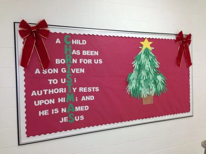 "Christmas Bulletin Board #4 ""Christmas"""