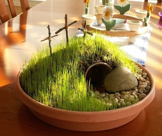 """How to make your own """"Resurrection Garden"""" this Easter"""