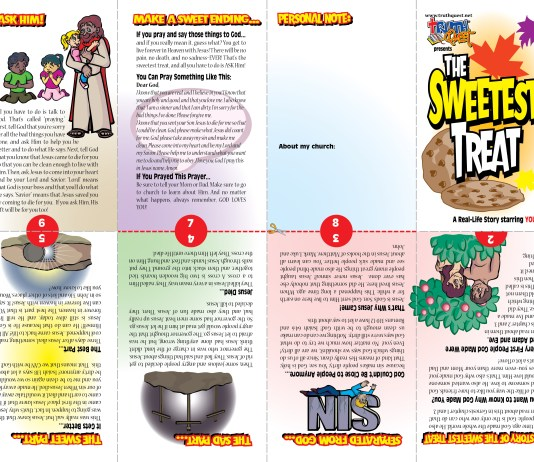 Halloween Tract for Children with the Gospel