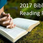 2017 Bible Reading Plan