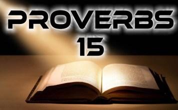 Proverbs 15