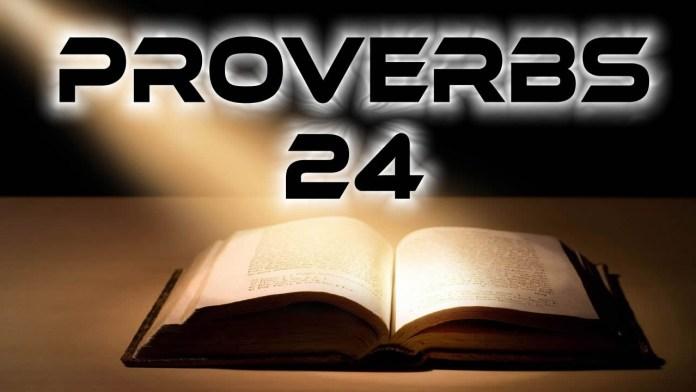 Proverbs 24