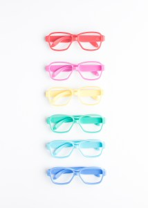 Have you ever been targeted, slandered or judged unfairly? Or do you judge others? The Bible warns against judging others... Red, pink, yellow, green, and blue glasses.