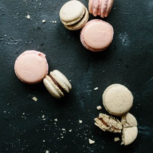 Godly Woman Characteristic - Temperate. Temperance. What is a Godly woman? How to be a Godly woman? All questions asked and now answered in this series. Pink, cream, and chocolate macaroons dessert