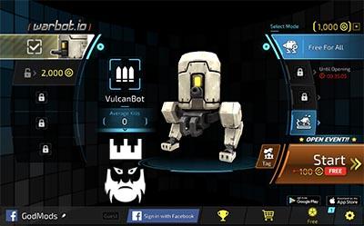 Warbot.io Gameplay