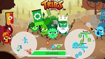 Tribs.io Gameplay