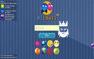 Bitball.io Gameplay