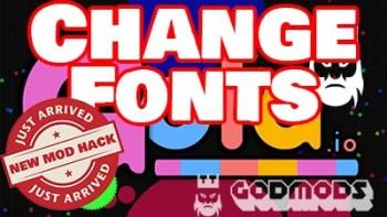 Gota.io Mod Change Fonts