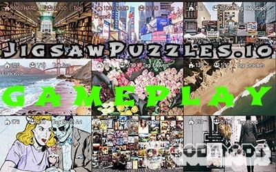 Jigsaw Puzzles.io Gameplay
