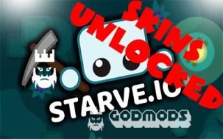 Starve.io Skins Unlocked Mod