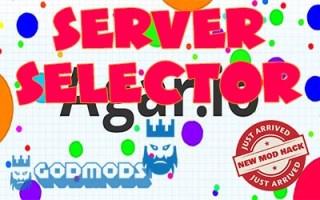 Agar.io Server Selector