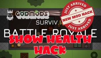 Surviv.io Show Health Hack