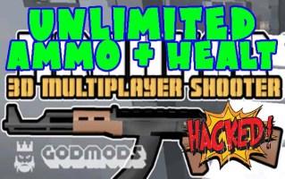 Krunker.io Unlimited Ammo Healt