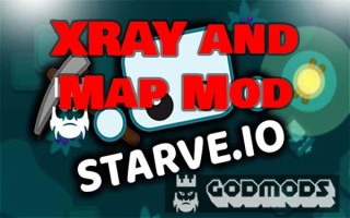 Starve.io XRAY and Map Mod