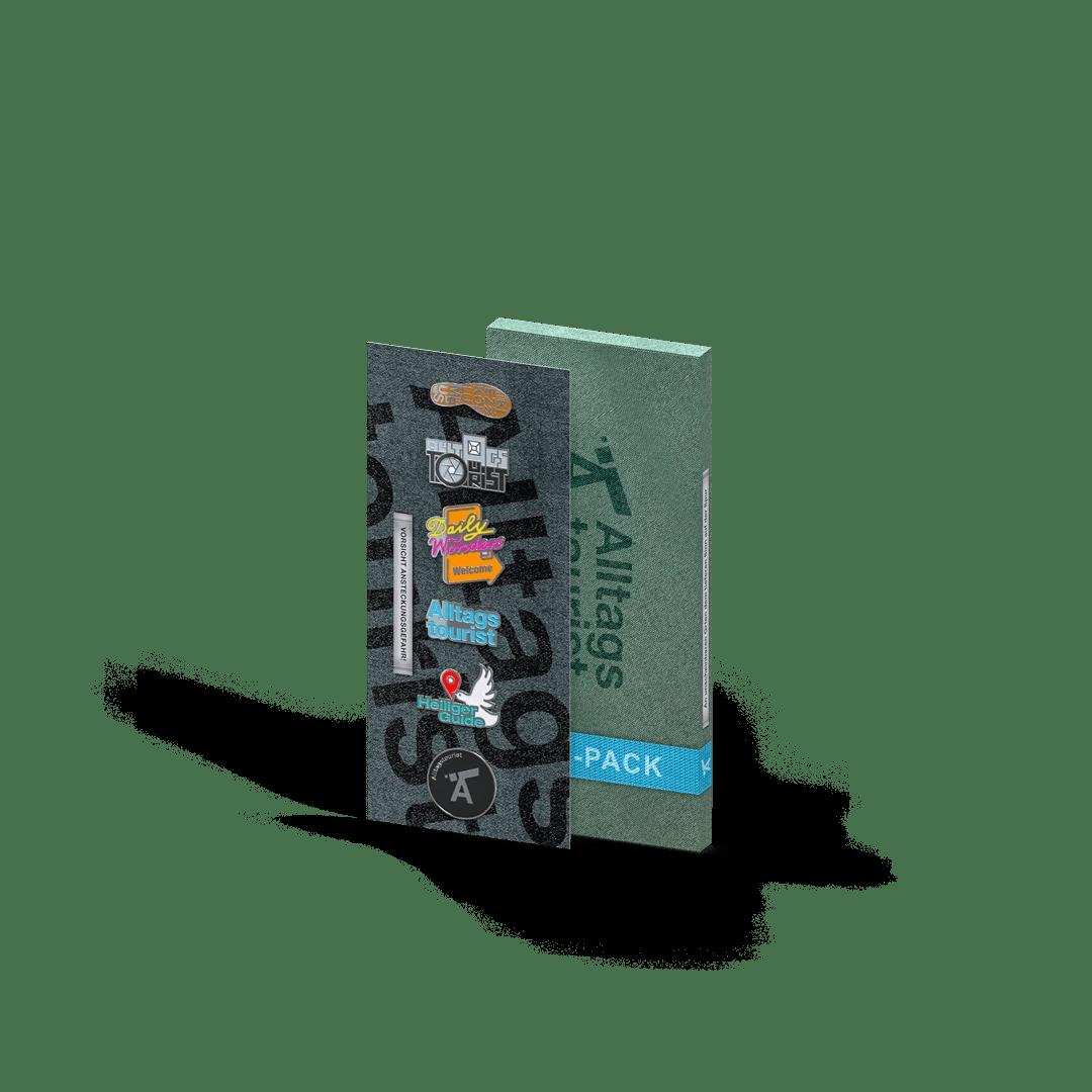 Alltagstourist – Pin-Pack