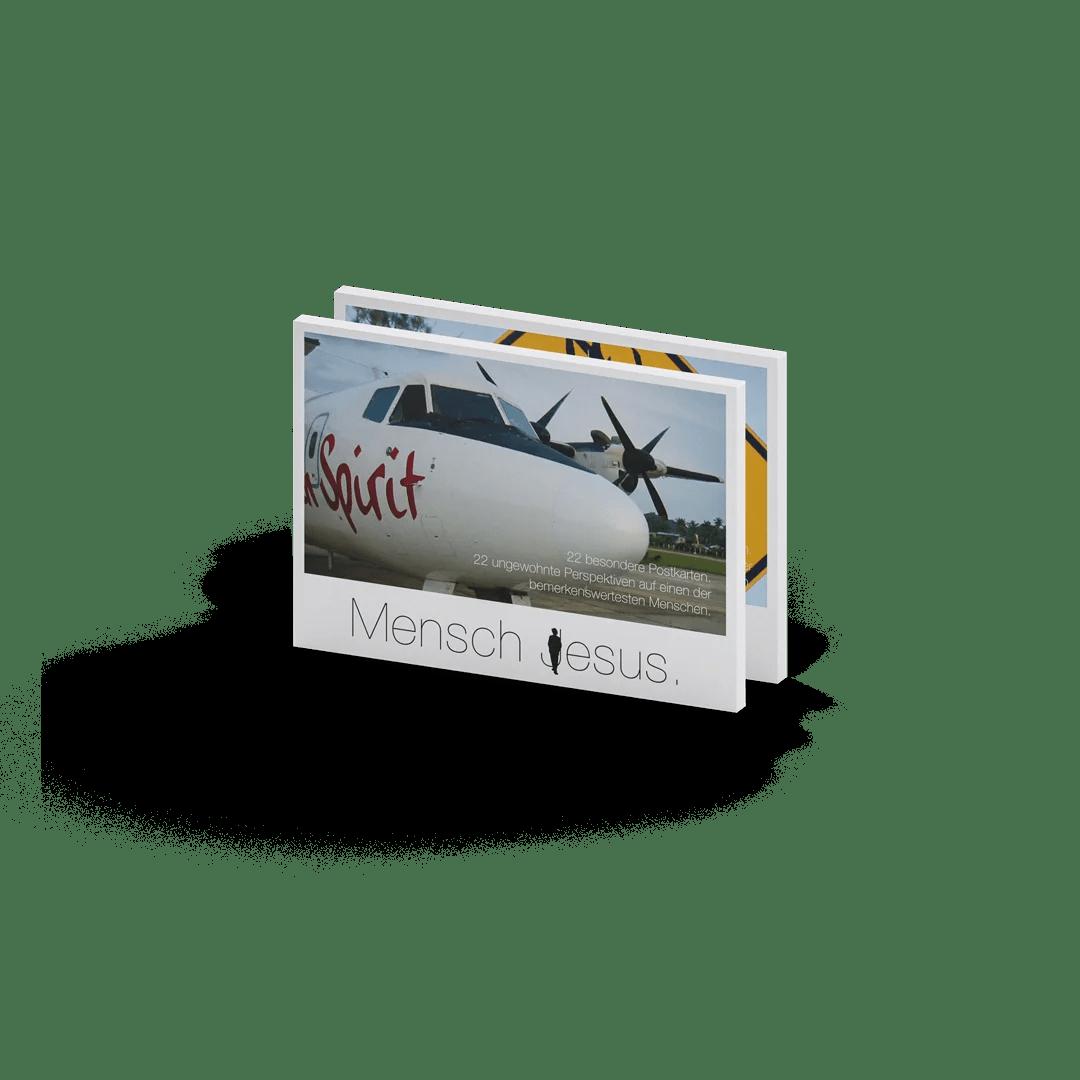 Mensch Jesus – Postkartenbuch