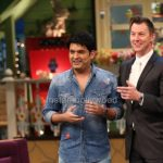 Brett Lee on the Sets of The Kapil Sharma Show