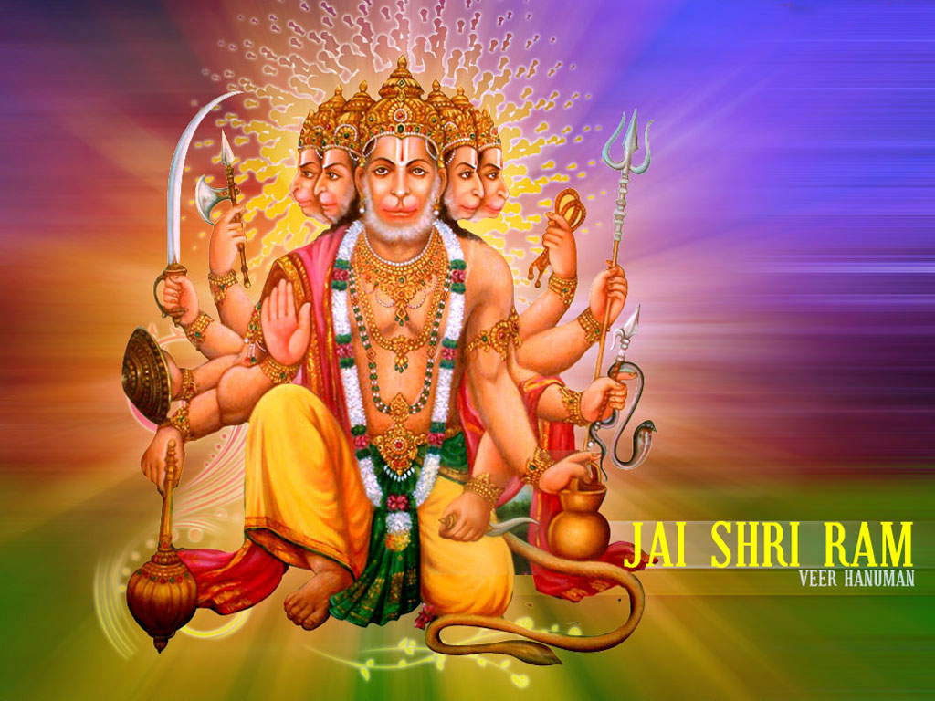 Panchmukhi Hanuman Ji Ki Photos HD