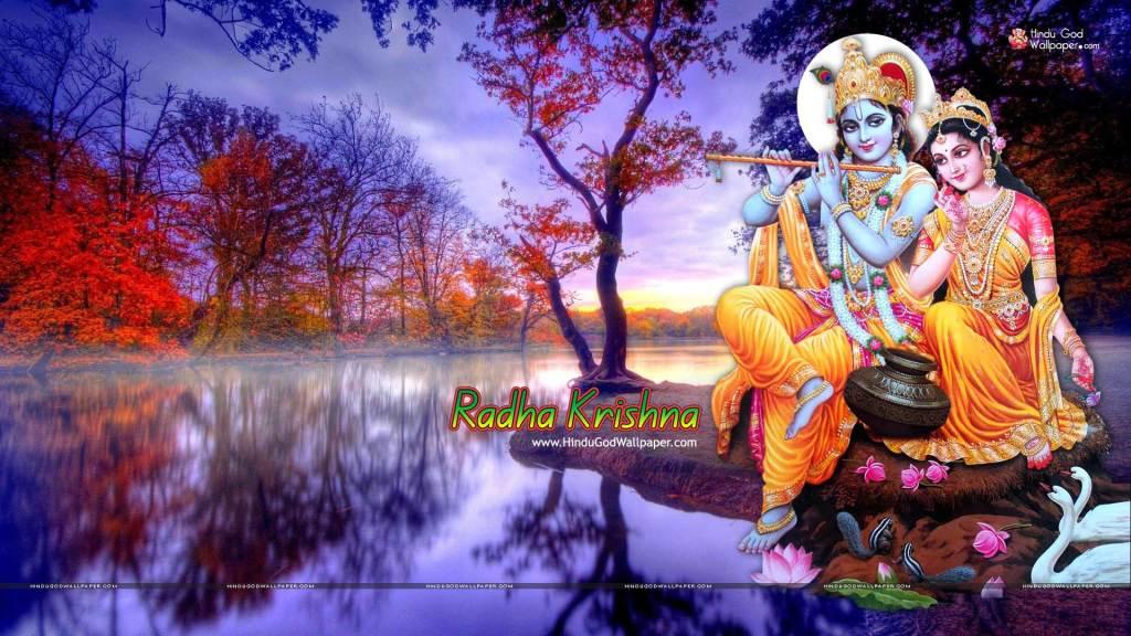 Radhe Krishna Ki Photo