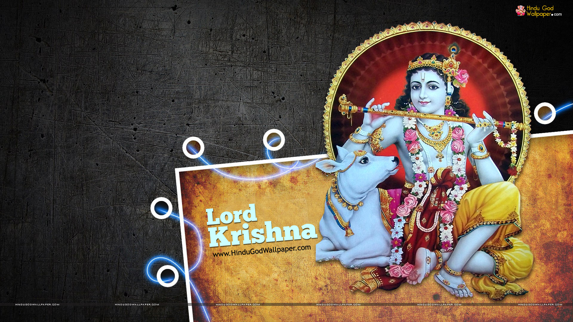 Lord Krishna HD wallpaper for download in laptop and desktop