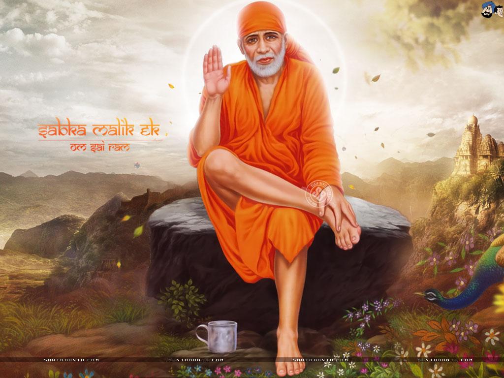Photos of Sai Baba