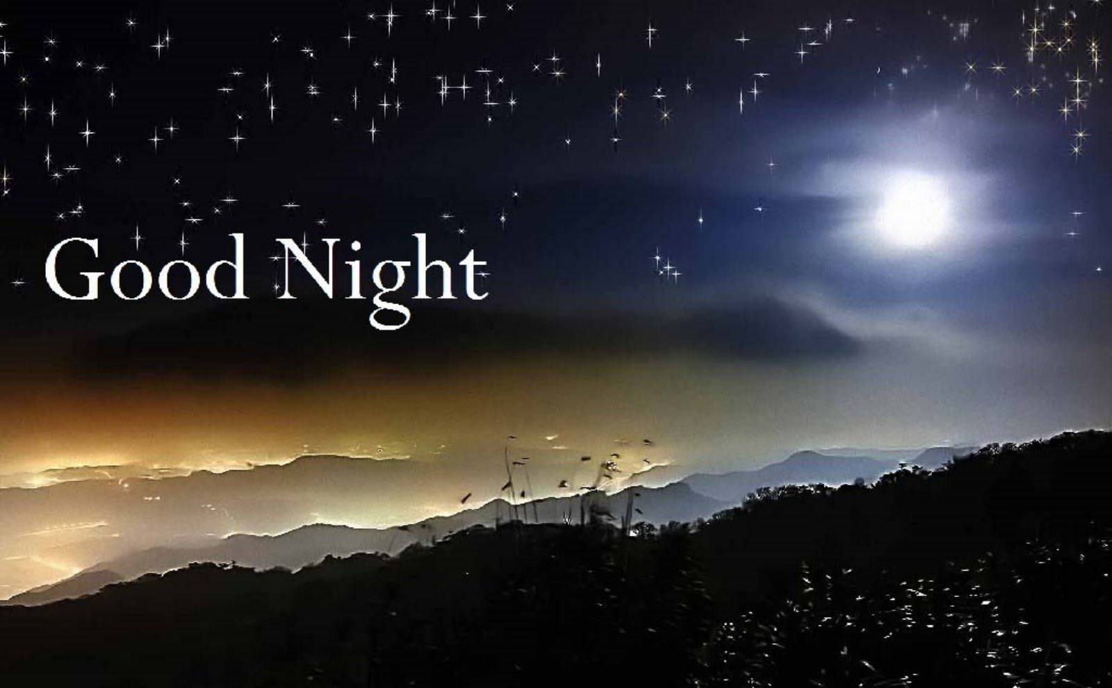 Good night images photos pics hd wallpapers download - Good night nature pic ...