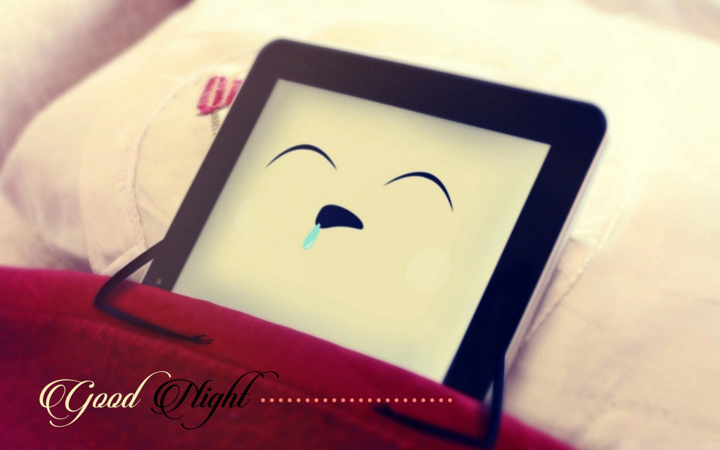 cute good night wallpaper
