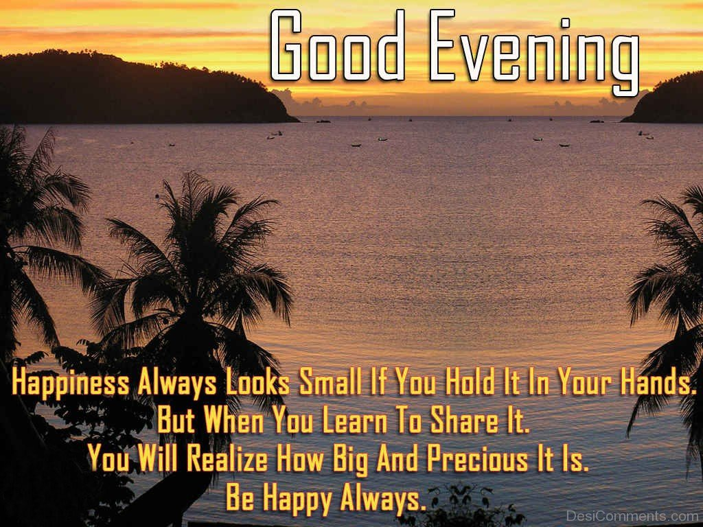 gud evening wallpaper